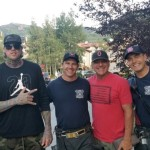 Vail FD. Special connection with CO firefighters.