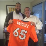 Mr. Vasquez client, friend, part of the family!