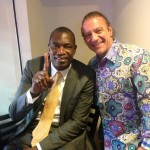 Mark Bryant and Mutombo